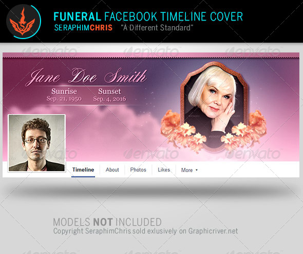 GraphicRiver Funeral Facebook Timeline Cover Template 8112752