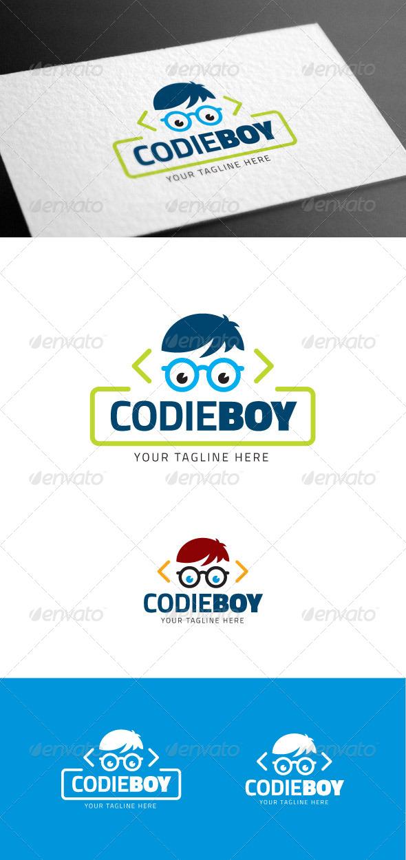 GraphicRiver Codieboy Logo Template 8097599