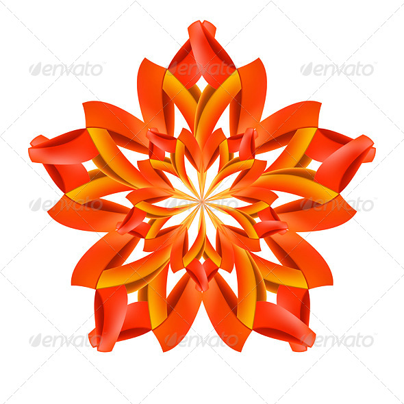GraphicRiver Abstract Red and Orange Pattern 8113221