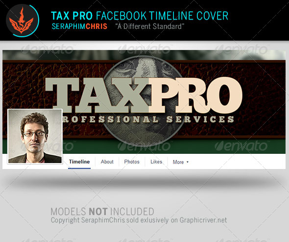 GraphicRiver Tax Pro Facebook Timeline Cover Template 8113237