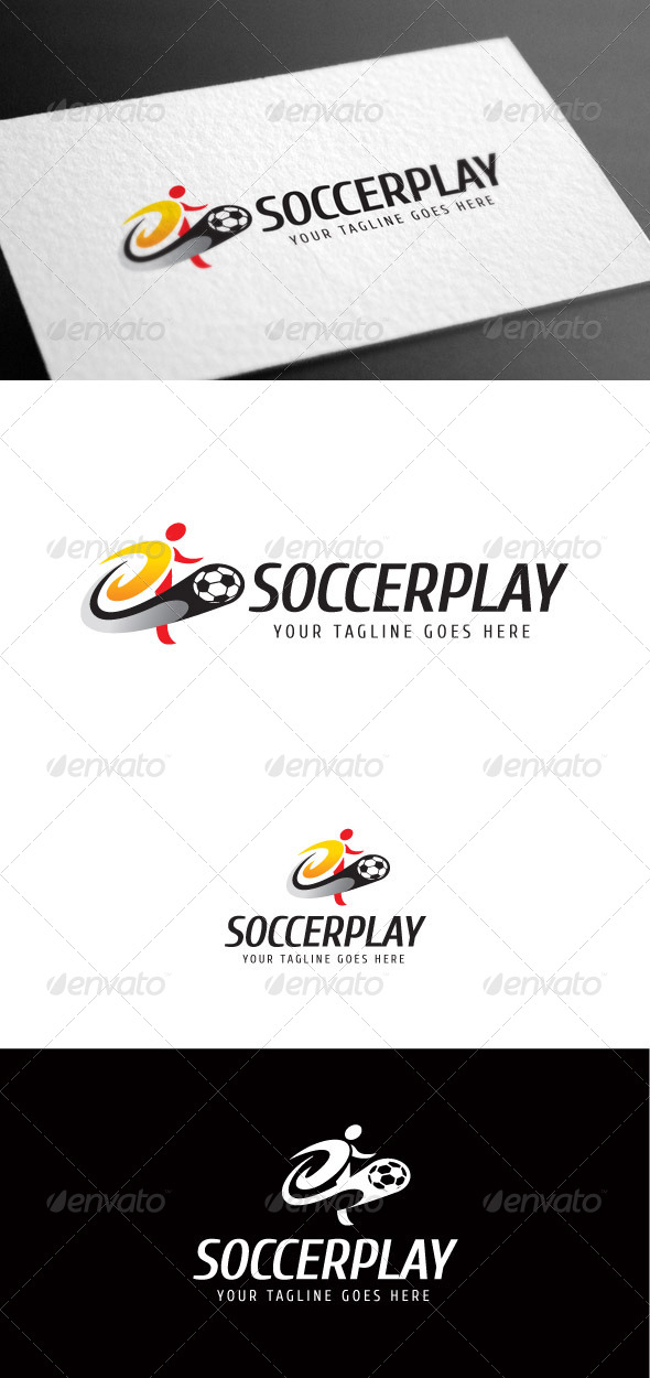 GraphicRiver Soccerplay Logo Template 8113588