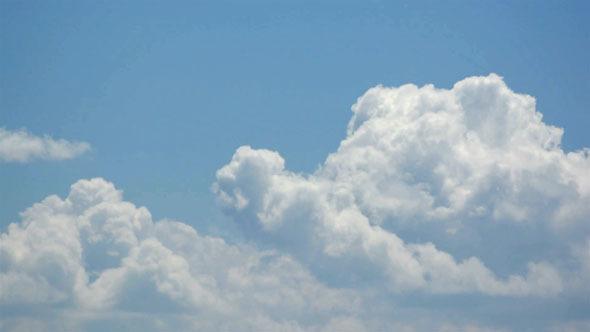 Cumulus Clouds Time Lapse