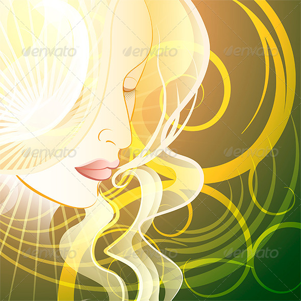 GraphicRiver Woman in Fantasy Style 8113735