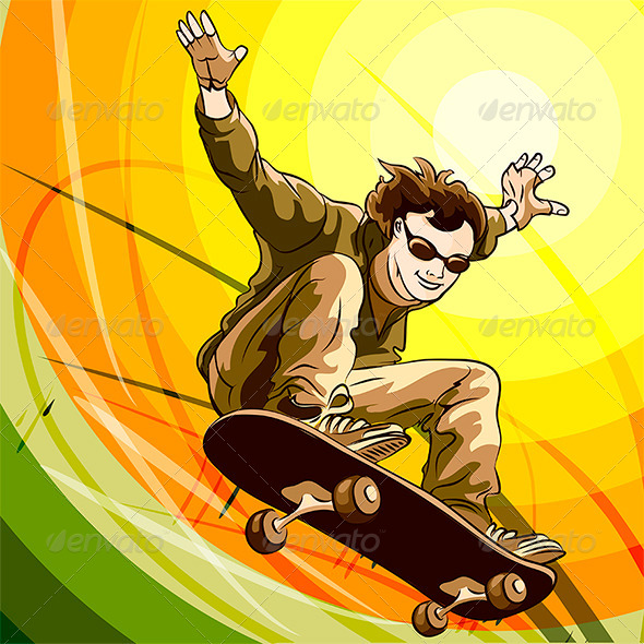 GraphicRiver Easy Skater 8113791