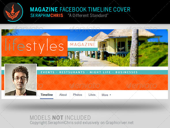 GraphicRiver Magazine Facebook Timeline Cover Template 8113792