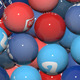 Social Network Balls Transition - VideoHive Item for Sale