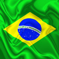 Brazil Waving Silk Flag - PhotoDune Item for Sale
