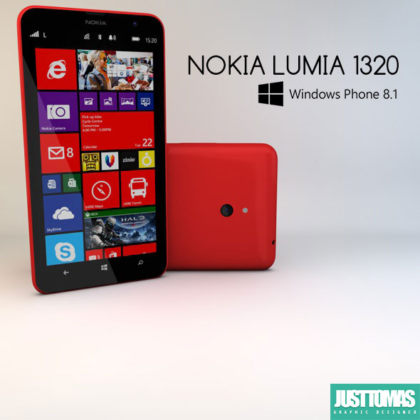 Nokia Lumia 1320 - 3DOcean Item for Sale
