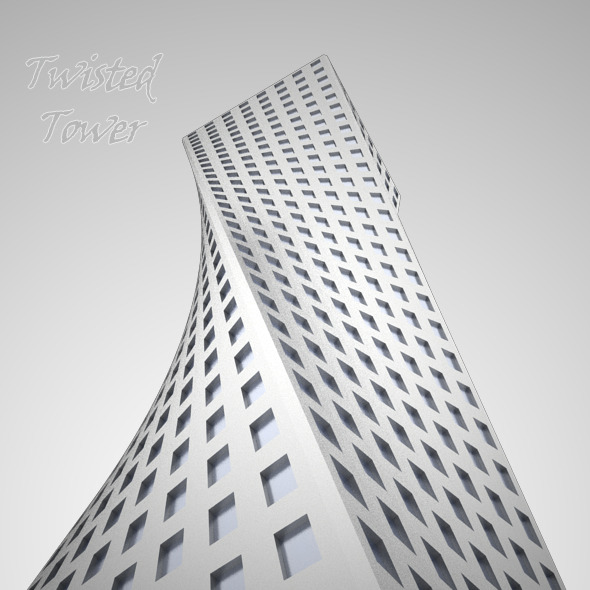 3DOcean Twisted Tower 8114419