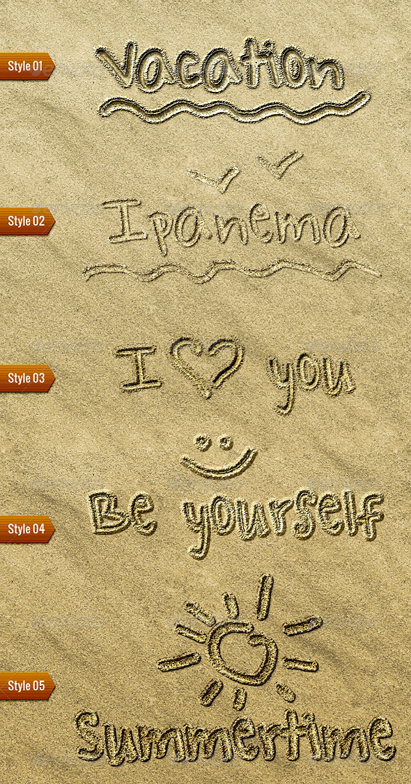 GraphicRiver Sand Writing 8114450