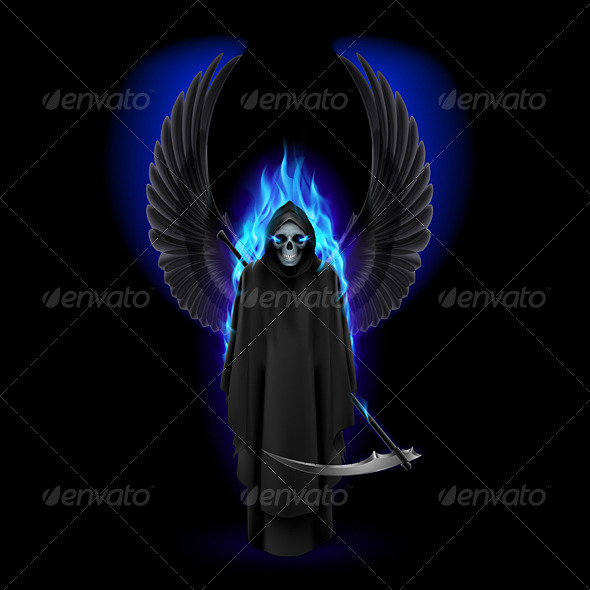 GraphicRiver Angel of Death 8115081