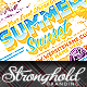 Summer Sunset Event Party Flyer Template - GraphicRiver Item for Sale