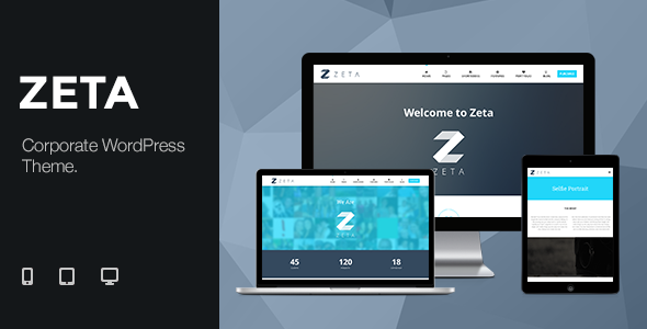 Zeta - Corporate WordPress Theme - Creative WordPress