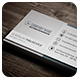 Clean Business Card Vol. 07 - GraphicRiver Item for Sale
