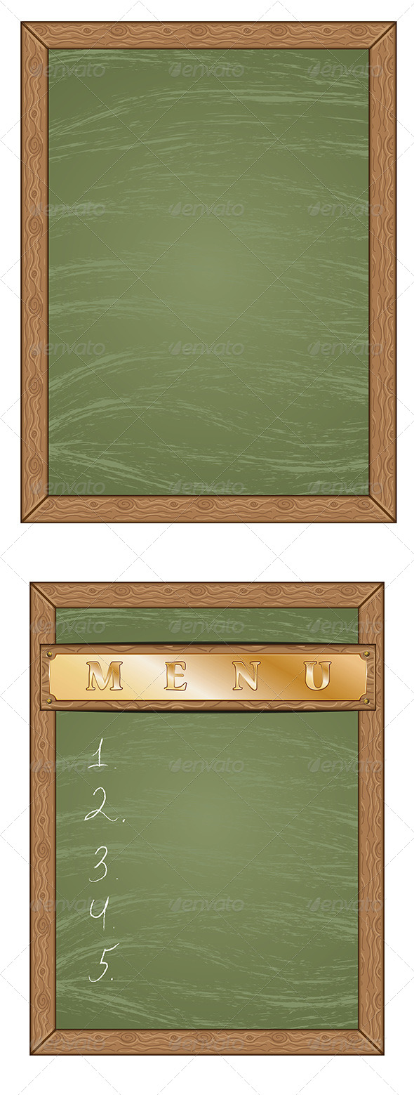 GraphicRiver Menu Chalkboard 8116751