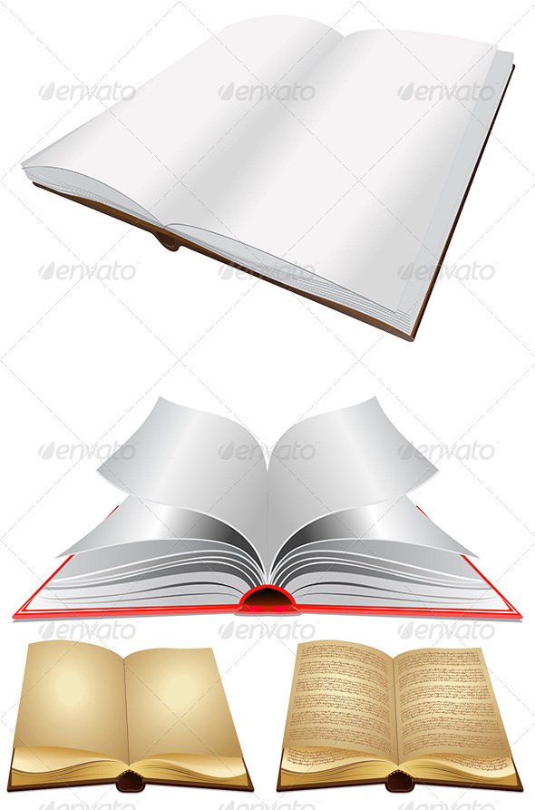 GraphicRiver Opened Book 8116753