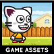 Game Asset - Running and Jumping Cat Sprite Sheets - GraphicRiver Item for Sale