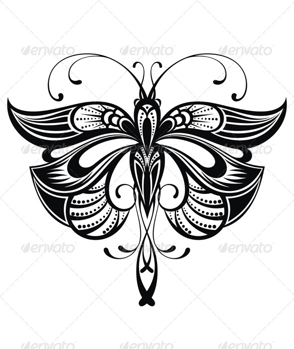 GraphicRiver Butterfly 8116767
