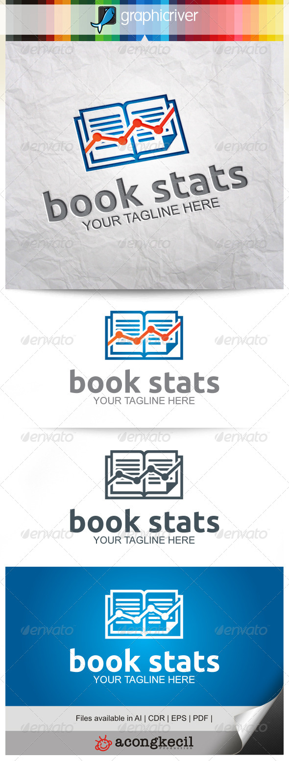 GraphicRiver Book Stats 8116835