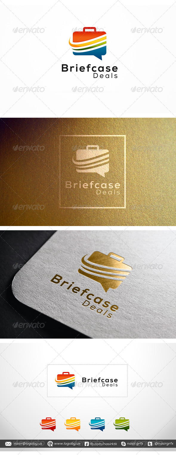 GraphicRiver Briefcase Deals 8116871