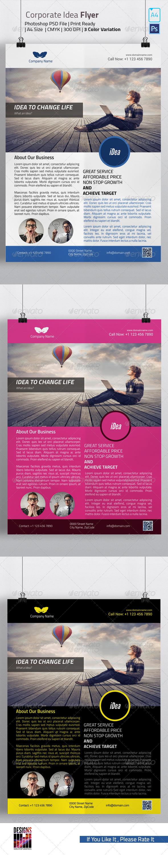 GraphicRiver Idea Flyer 8117007