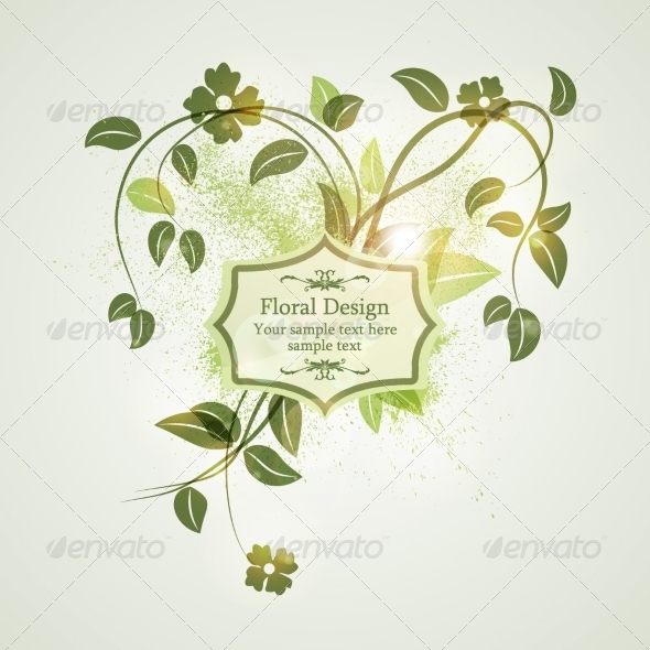 GraphicRiver Floral Design 8117195