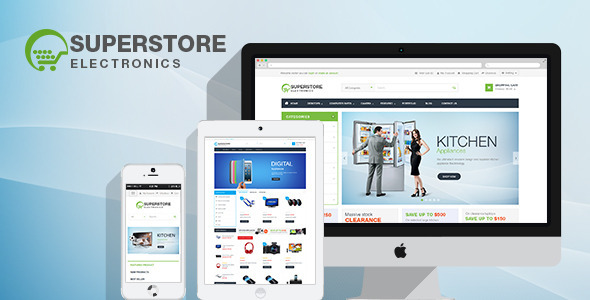 ThemeForest SuperStore Woocommerce Wordpress Theme 8117928