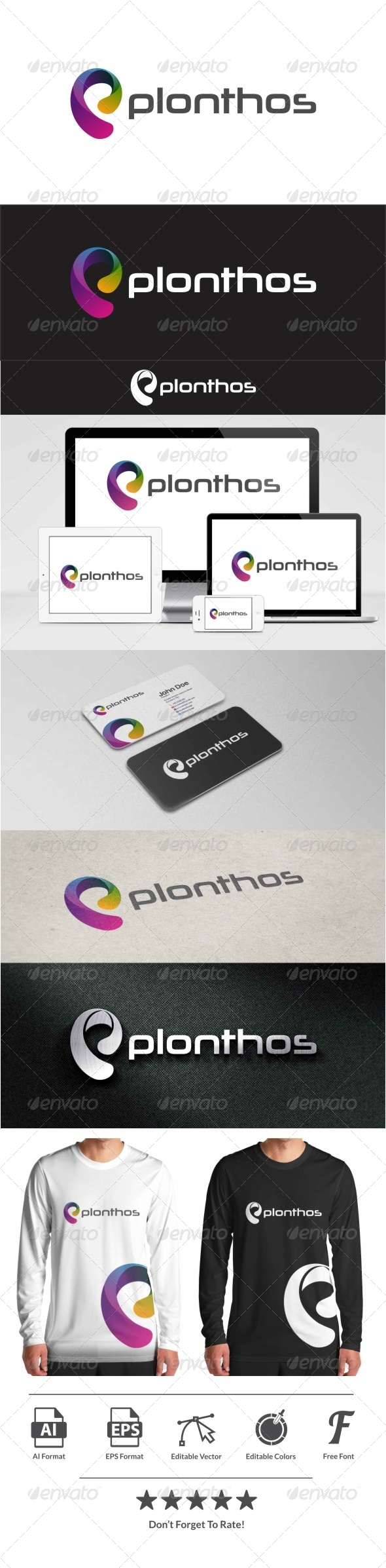 GraphicRiver Plonthos Logo 8117939