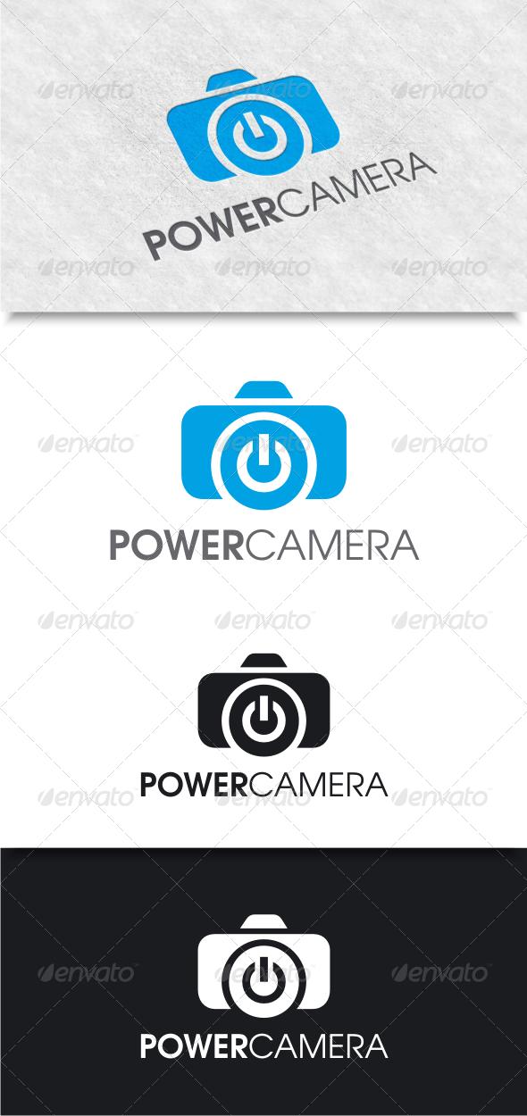 GraphicRiver Power Camera Logo 8118082