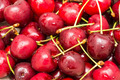 Wet And Fresh Red Cherries - PhotoDune Item for Sale