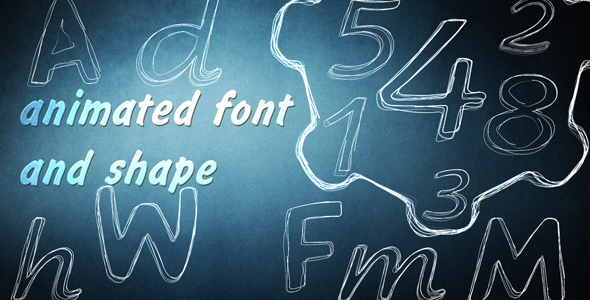 Wiggly Font Kit and Shape