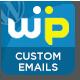 Wordpress Custom Emails - CodeCanyon Item for Sale
