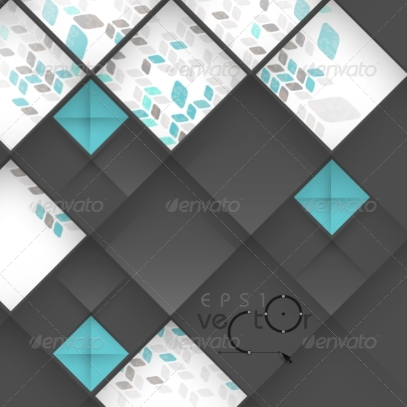 GraphicRiver Abstract 3D Geometrical Design 8118498