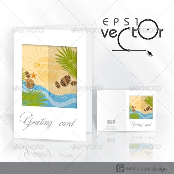 GraphicRiver Greeting Card Design Template 8118554
