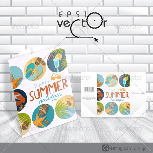 GraphicRiver Greeting Card Design Template 8118558