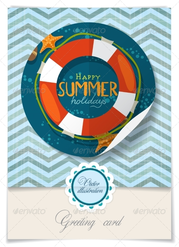 GraphicRiver Greeting Card Design Template 8118641
