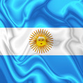 Argentina Waving Silk Flag - PhotoDune Item for Sale
