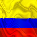 Colombia Waving Silk Flag - PhotoDune Item for Sale
