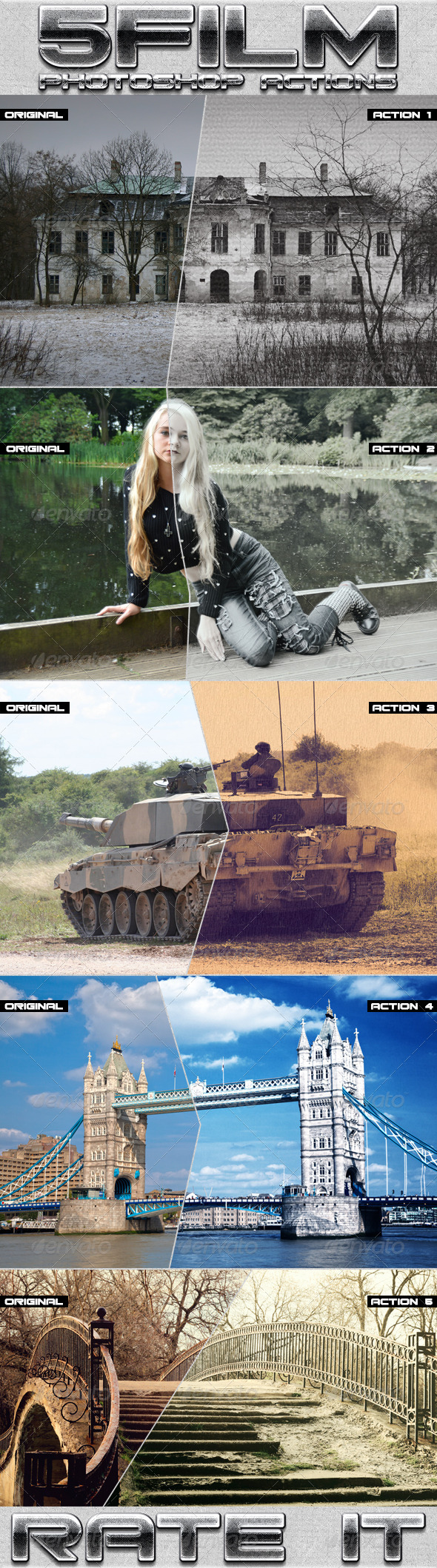 GraphicRiver Film Photoshop Actions 8118855