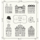 Vector Vintage Old Styled Houses - GraphicRiver Item for Sale