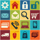 Icon E commerce and Shopping  - GraphicRiver Item for Sale