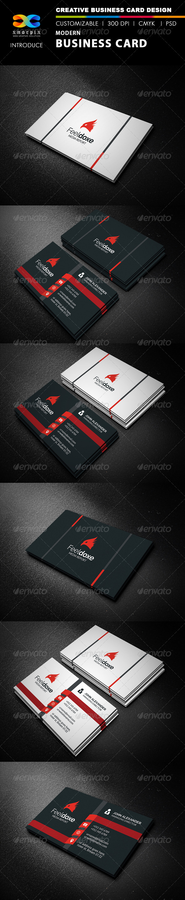 GraphicRiver Modern Business Card 8119968