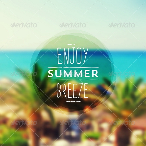 GraphicRiver Summer Vacation Type Design 8120120
