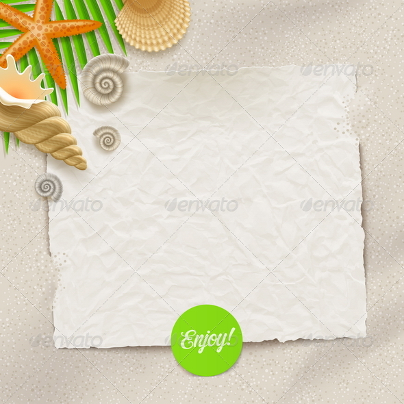 GraphicRiver Tropical Holidays Vector Illustration 8120282