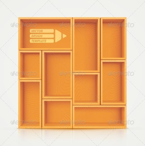 GraphicRiver Shelves for Design 8120492