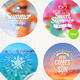 Summer Holidays and Tropical Vacation Set  - GraphicRiver Item for Sale