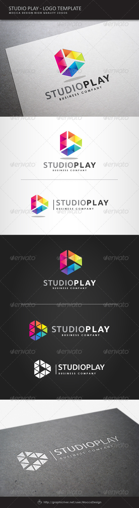 GraphicRiver Studio Play Logo 8122028