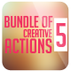 Bundle Of 5 Creative Actions - GraphicRiver Item for Sale