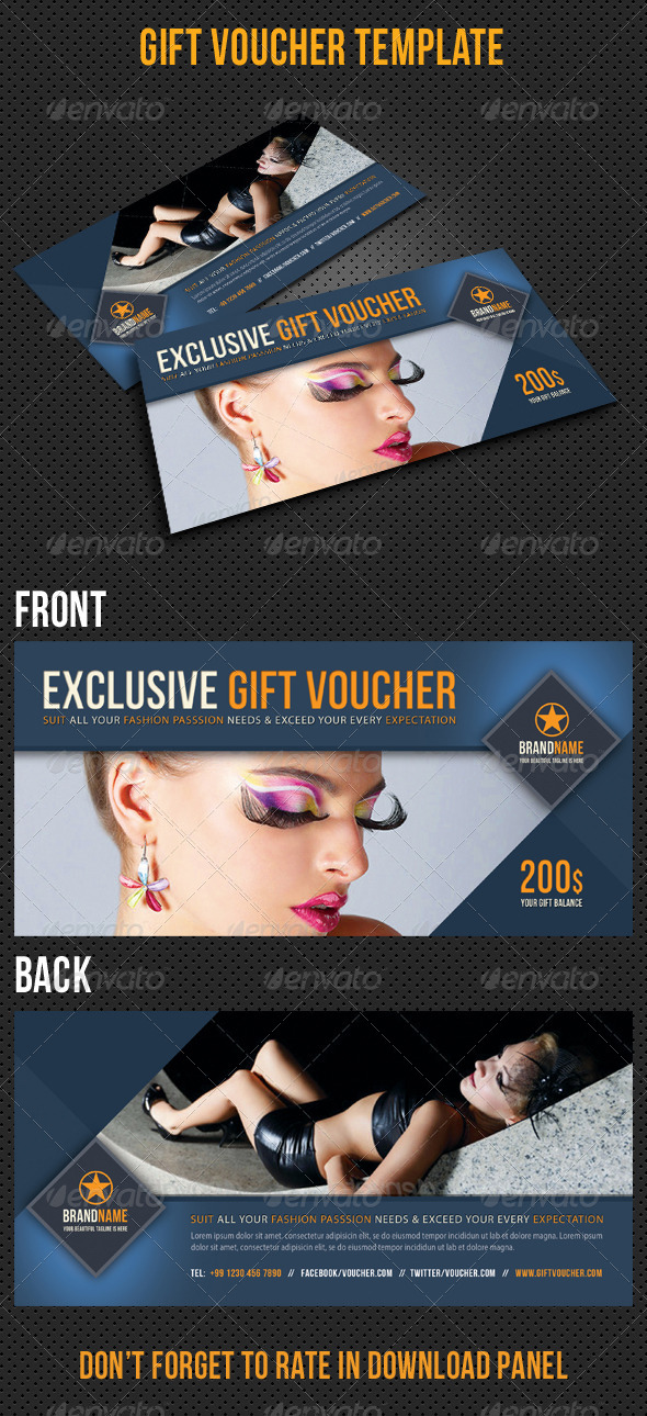 GraphicRiver Gift Voucher V08 8122250