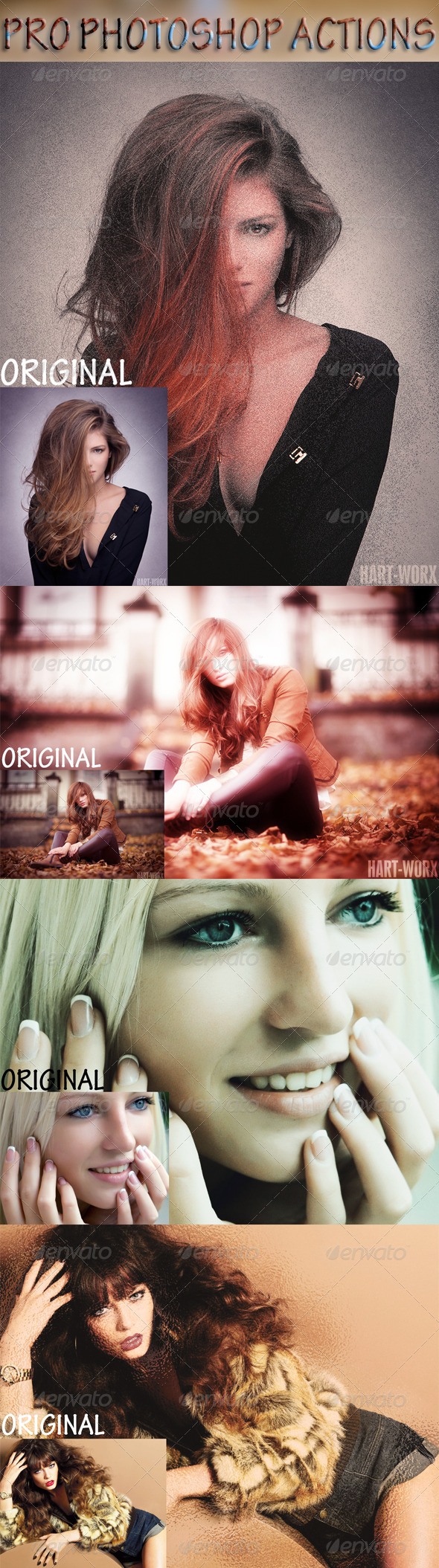 GraphicRiver Pro Photoshop Actions 8122262